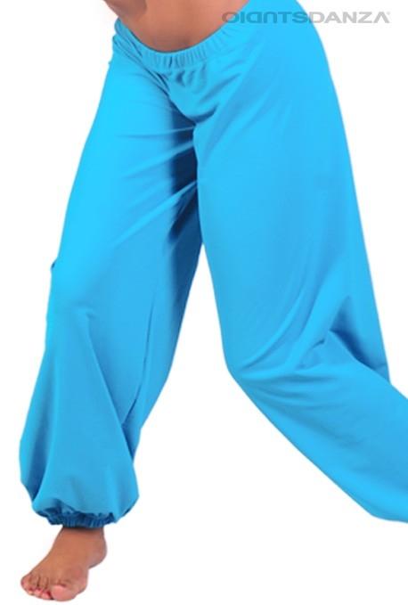 acquisto economico 397f7 0879a Pantaloni danza moderna con elastici alla caviglia
