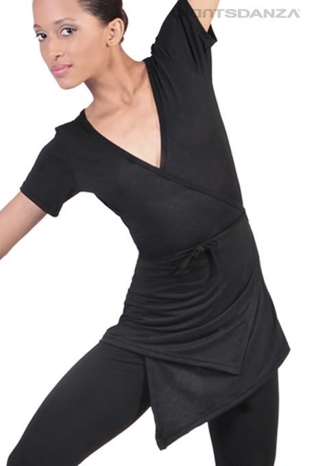 Casacca incrociata per danza T1003B -
