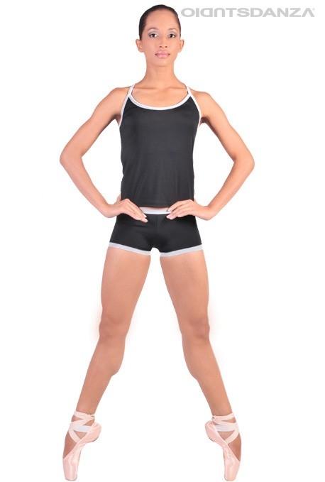 ff6c16f7b26a Abbigliamento per danza contemporanea -Shorts e top danza