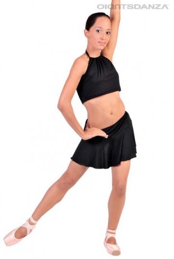 Abbigliamento di danza moderna - Top e gonna JZM777