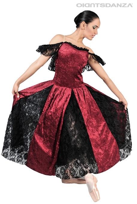Costume di scena La Bruja C2501 -