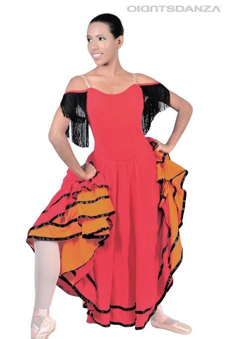 Vestito danza Spagnola C2505 -