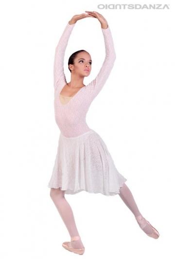 Vestito danza in pizzo C2532