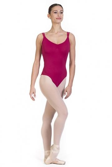 Body danza classica con bretelle -