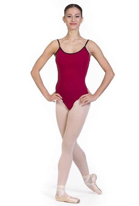 Body danza classica con bretelline B400BC -