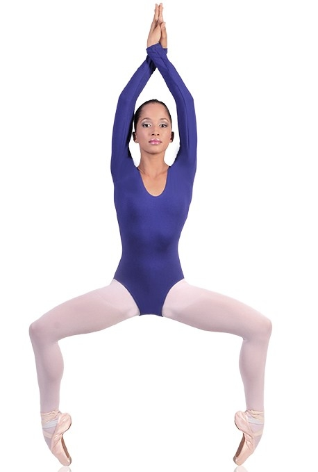 Body danza maniche lunghe