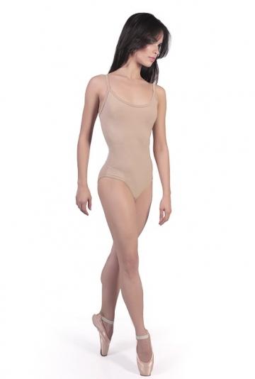 Body danza classica color carne