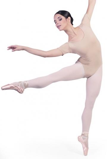 Body danza con mezze maniche B1022