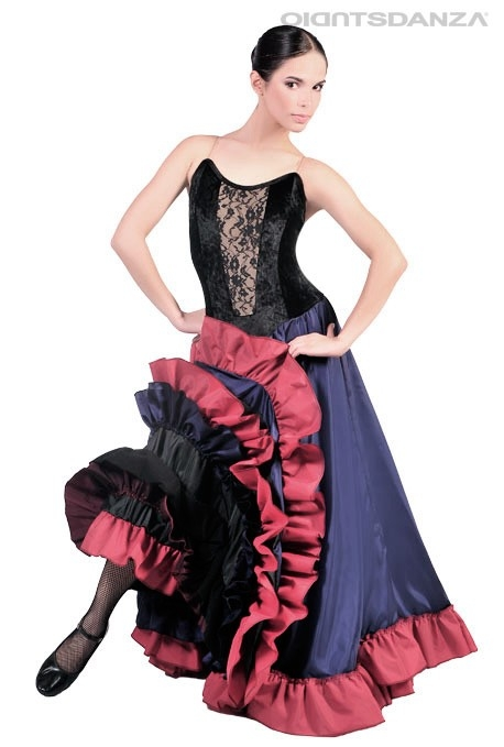 Costume danza Can Can C2528 -