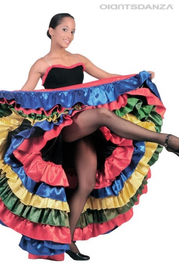 Costume danza Moulin Rouge C2534