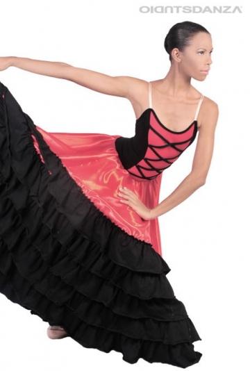 Vestito danza Spagnola C2527 -