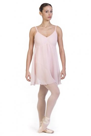 Abbigliamento danza body con gonnellino