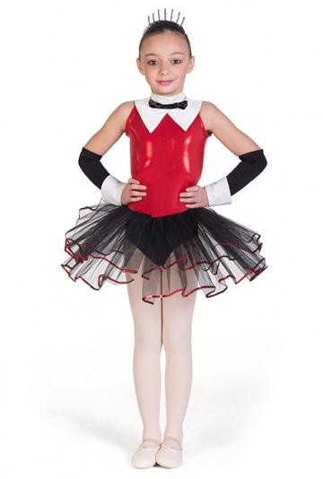 Costume danza moderna per bambina C2158 -
