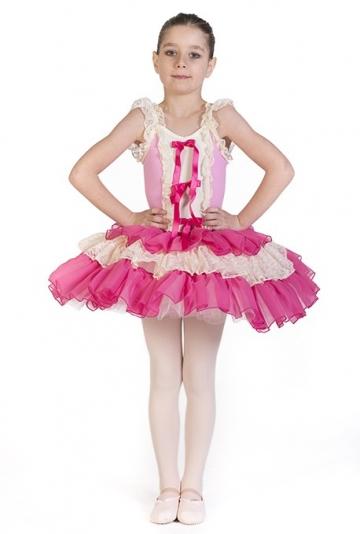 Tutu per bimbe danza classica C2679 -
