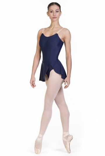Body per danza classica con gonna B7018
