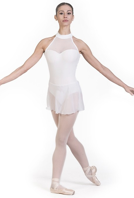 Body danza classica con gonna in chiffon B7017 -