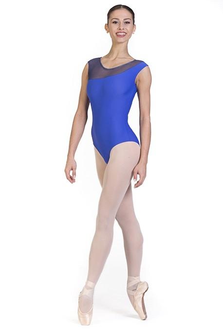 Body danza con taglio asimmetrico -