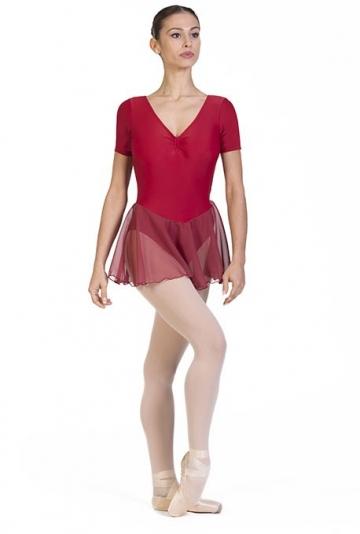 Body danza classica con gonnellino