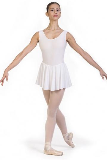 Body danza con gonnellino -