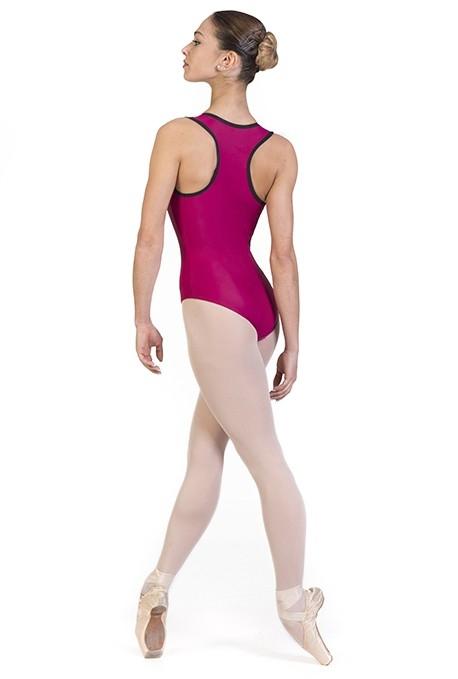 Body danza con scollatura olimpionica -