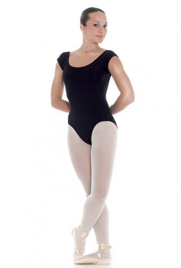 Body danza con mezza manica ad aletta -
