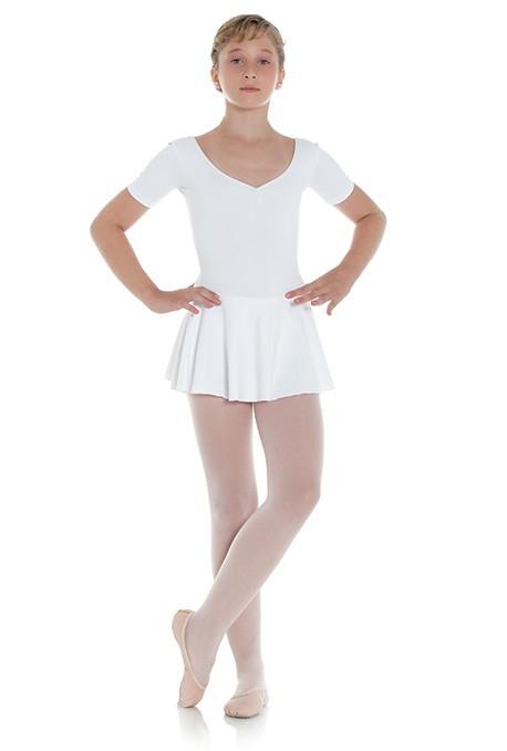 Body danza classica con gonnellino -