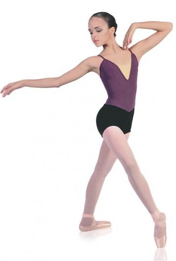 Body danza a pantaloncino -