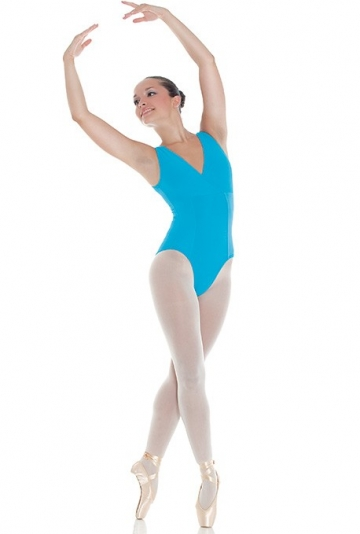 Body danza in lycra e cotone -