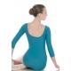 Body danza con manica tre quarti -