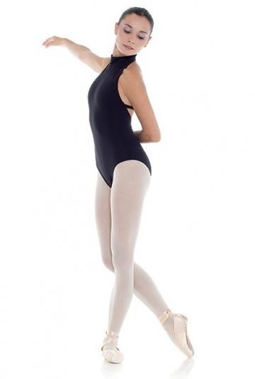 Body danza con scollatura alta