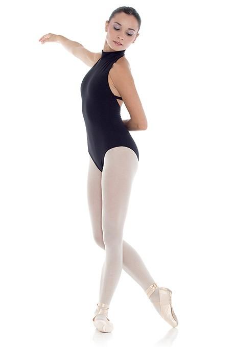 Body danza adulta con collo alto -