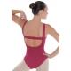 Body danza con bretelle a fascia -