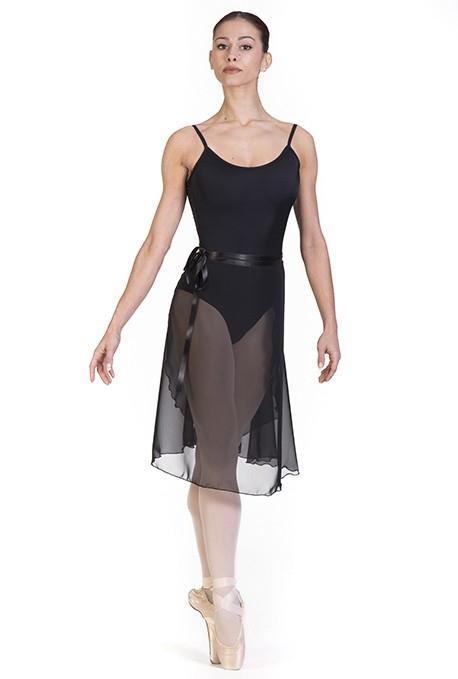 Gonnellino danza classica in chiffon -