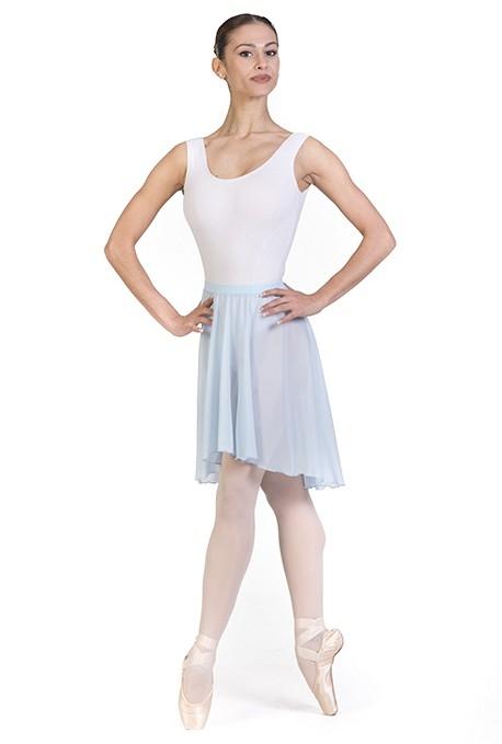 Gonnellino per danza classica con elastico in vita -