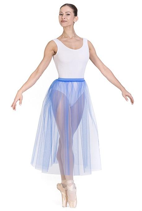 Gonna danza classica in tulle morbido -
