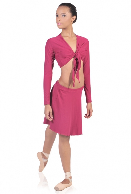 Gonna danza in lycra modello svasato JZM15 -