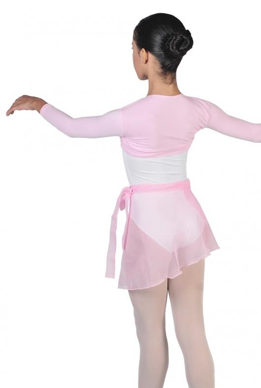 promo code dae4e 4be9c Gonnellina per danza classica allacciata a portafoglio