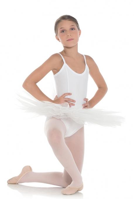 Tutù danza bianco in offerta TB6B -