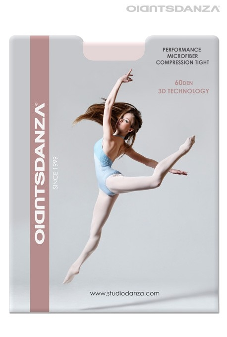 Collant danza classica in Microfibra 3D 400 -