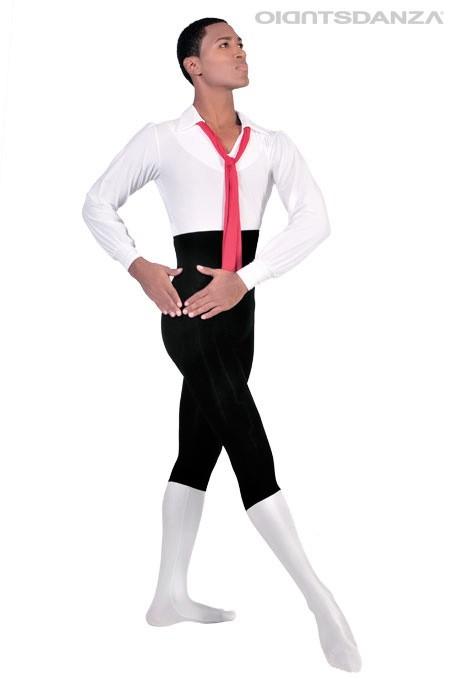Costume danza maschile Naples Unitard M902 -