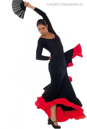 Gonna flamenco doppio volant FL 2022