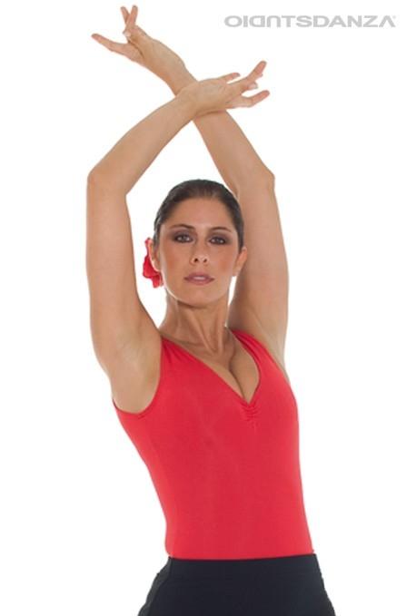 Body flamenco smanicato B1053 -