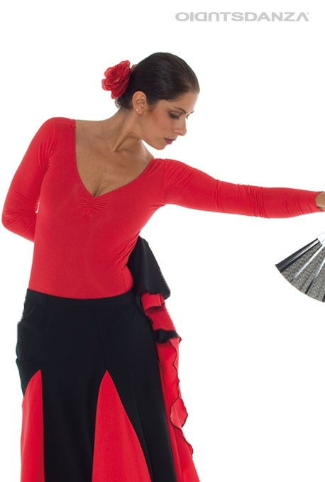 Body flamenco manica lunga B1051 -